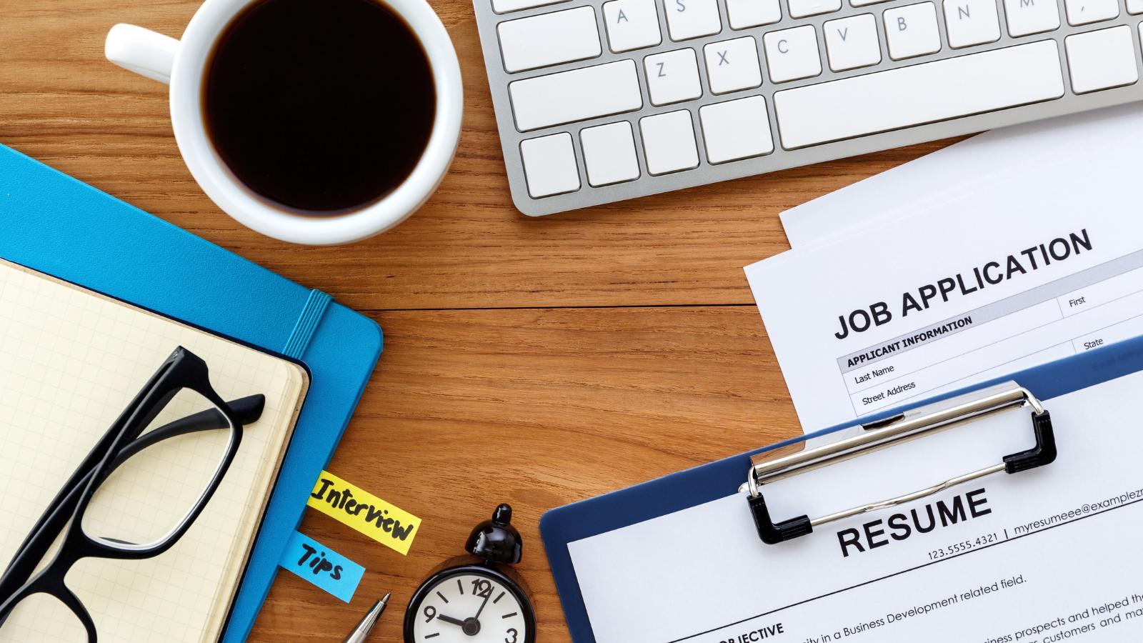 job application materials