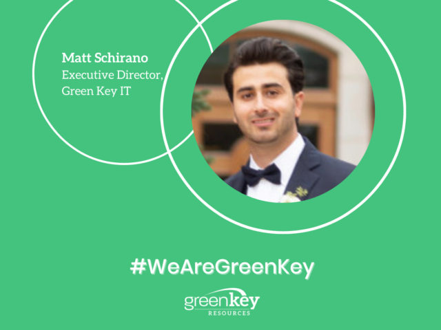 #WeAreGreenKey: Spotlight on Matt Schirano