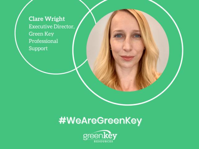 #WeAreGreenKey: Spotlight on Clare Wright