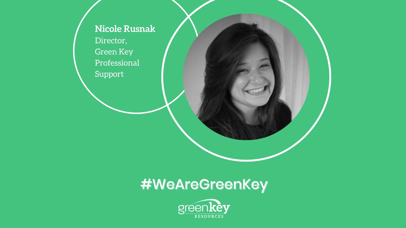 Nicole Rusnak - Director - Green Key Professional Support